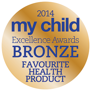 Badge: My Child Excellence Awards - BRONZE Favourite Health Product 2014