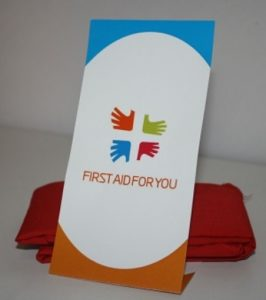 Image of the HELP Hanky - Little Red Bandage by First Aid For You