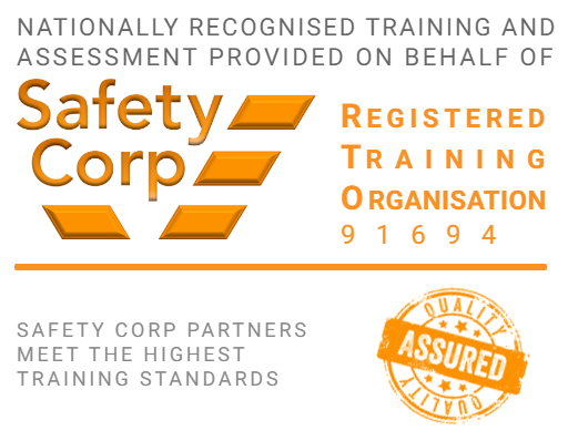Safety Corp RTO logo badge